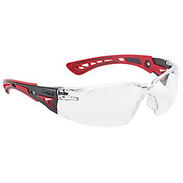 Bolle Rush Black & Red Safety Glasses