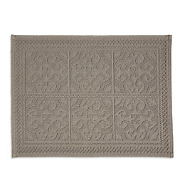 Marinette Saint-Tropez Astone Gasoline Tile Cotton Bath Mat