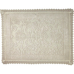 Marinette Saint-Tropez Platinum Beige Floral Cotton Lace Trim