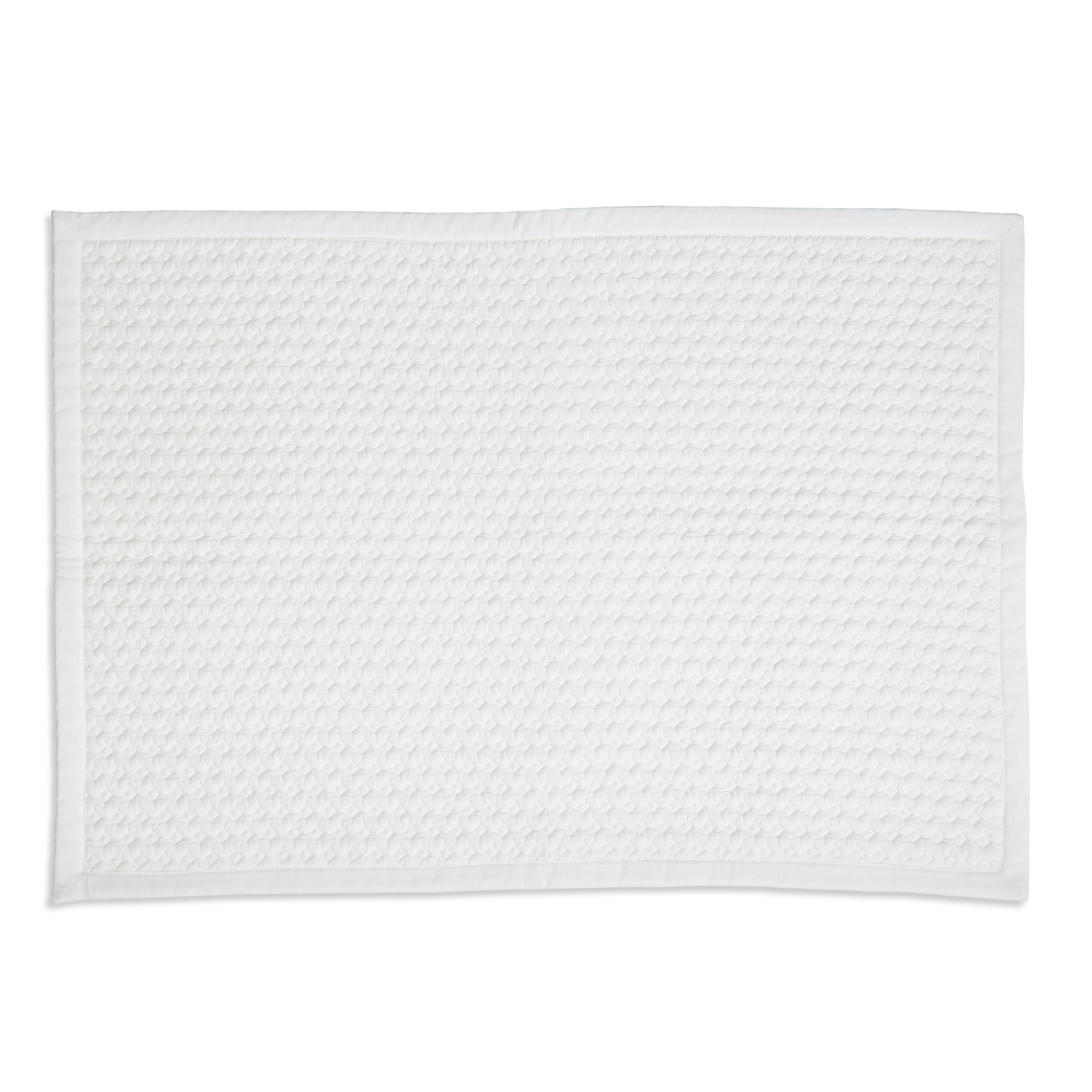 Marinette Saint-tropez Version White Cotton Bath Mat (l)500mm (w)700mm
