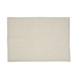 Marinette Saint-Tropez Version Beige Cotton Bath Mat (L)50cm
