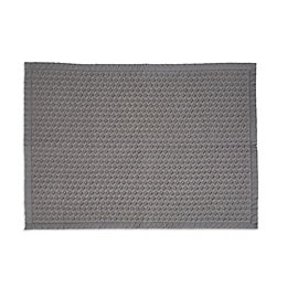 Marinette Saint-Tropez Version Light Grey Cotton Bath Mat