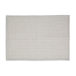 Marinette Saint-Tropez Version Grey Cotton Bath Mat (L)500mm
