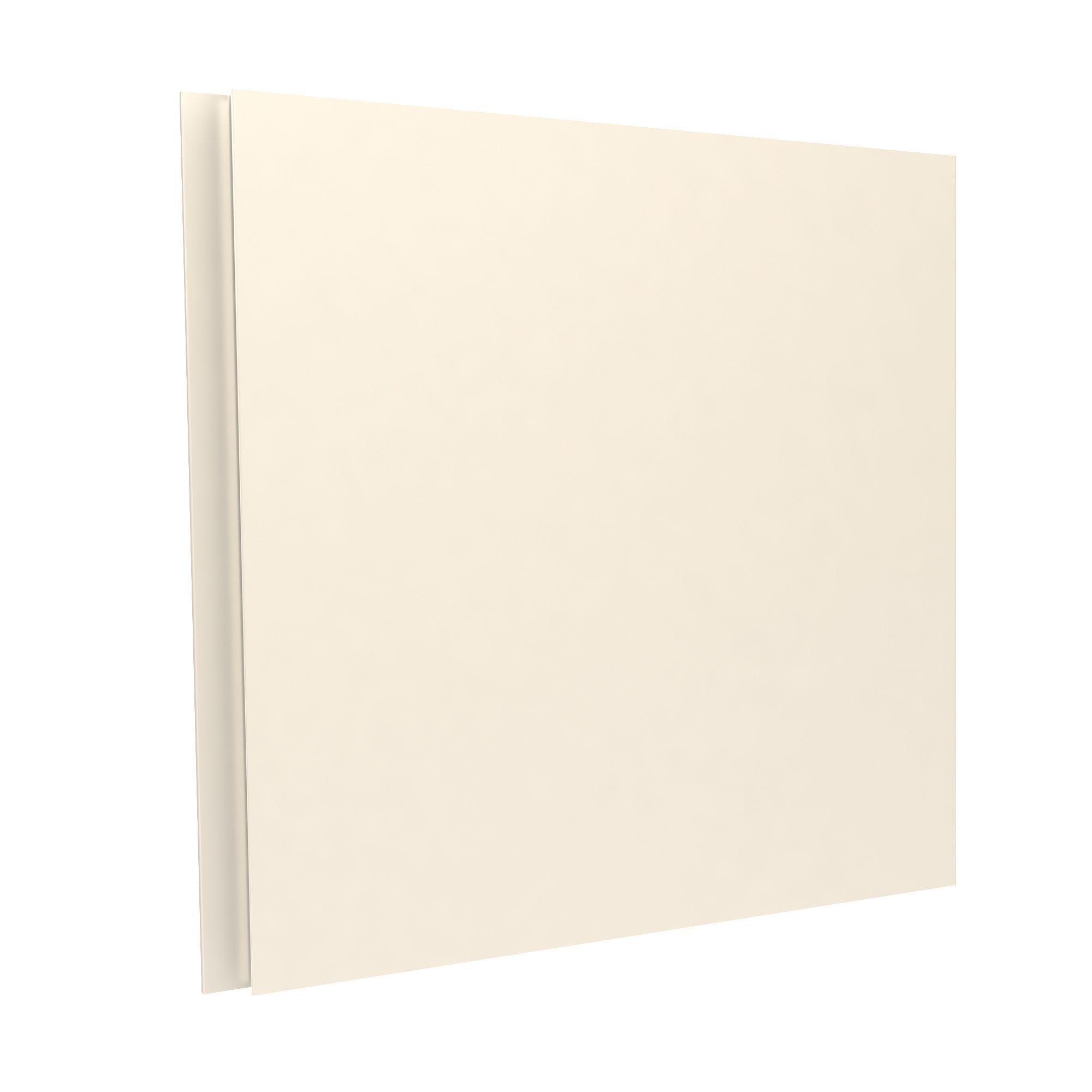 Darwin Modular Cream Bedside Cabinet Door With Integrated Handle (h)478 Mm (w)497 Mm