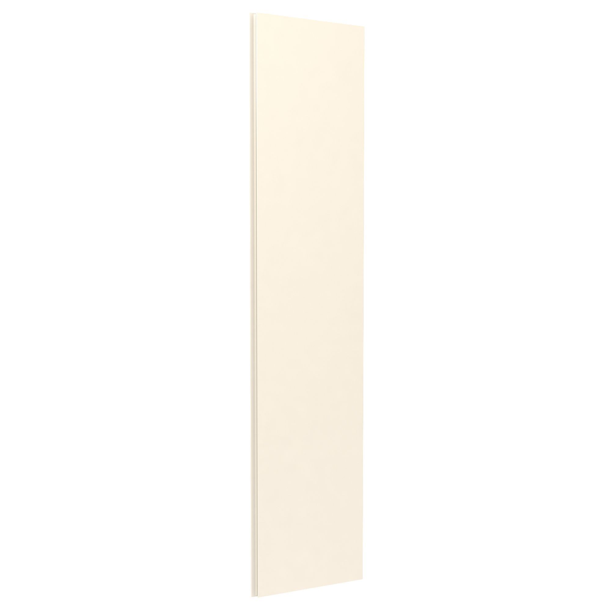 Darwin Modular Cream Large Wardrobe Door With Integrated Handle (h)2280 Mm (w)497 Mm