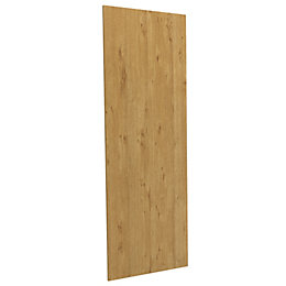 Darwin Modular Oak Effect Matt Linen Door (H)1456