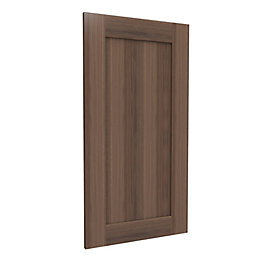 Darwin Modular Walnut Effect Chest Cabinet Door (H)958mm