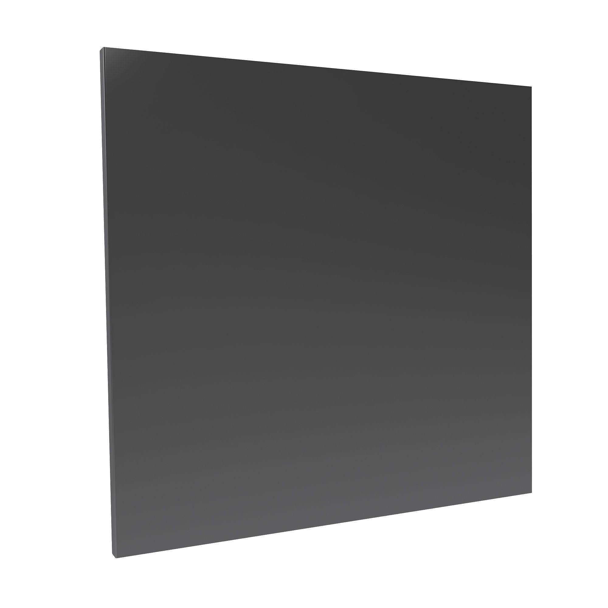 Darwin Modular Anthracite Bedside Cabinet Door (h)478mm (w)497mm