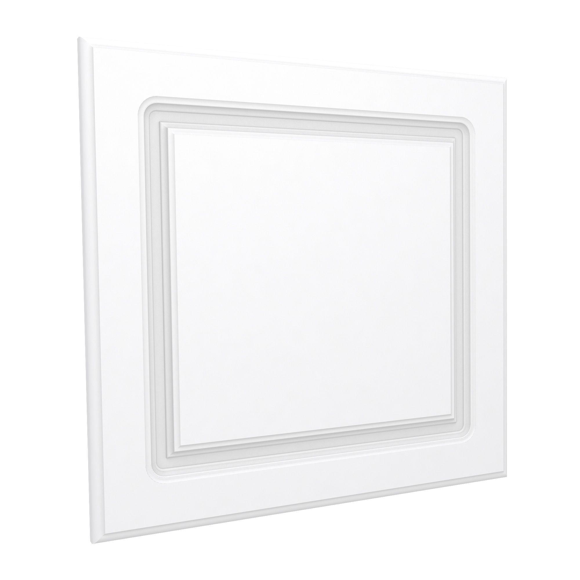 Darwin Modular White Bedside Cabinet Door (h)478mm (w)497mm