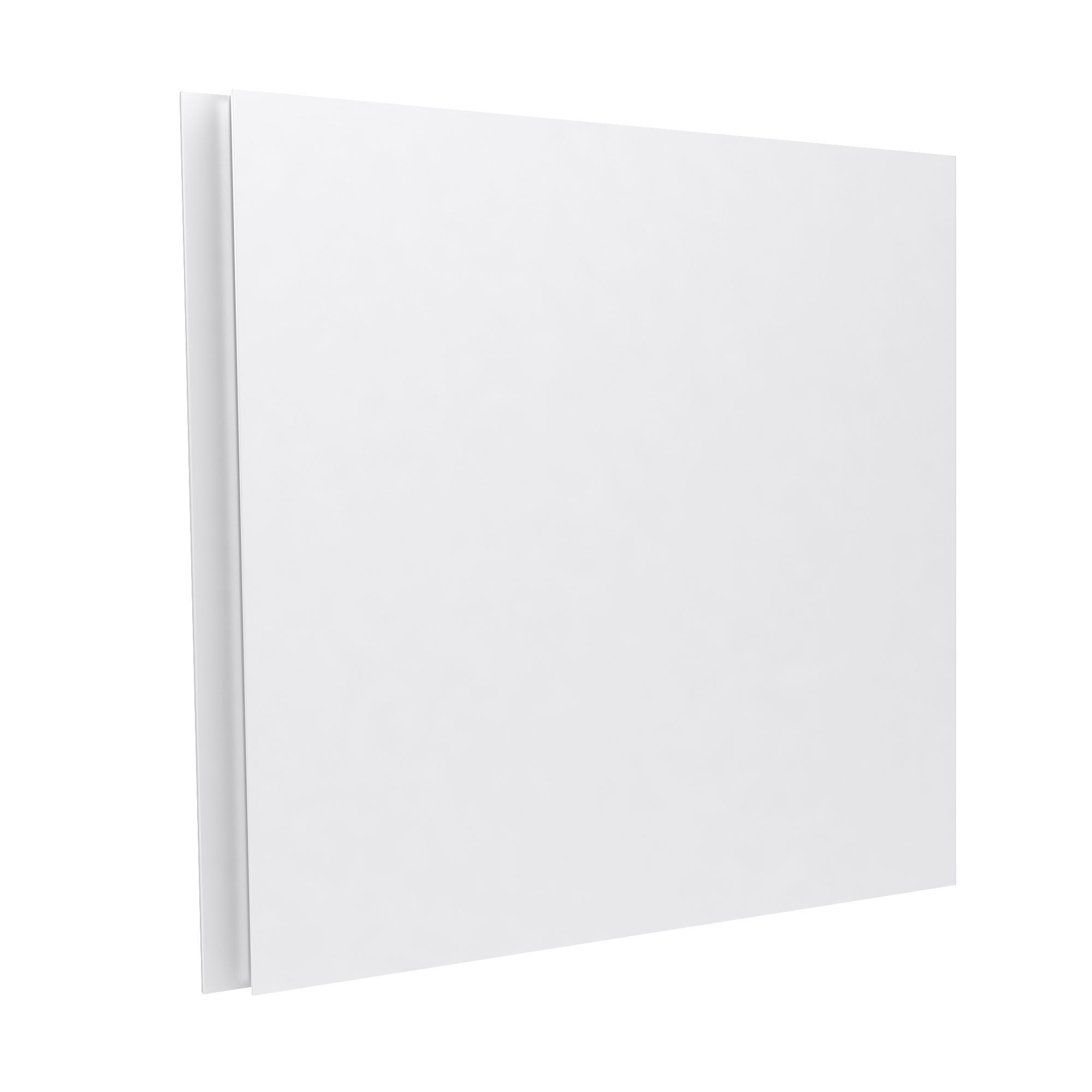 Darwin Modular White Bedside Cabinet Door With Integrated Handle (h)478 Mm (w)497 Mm