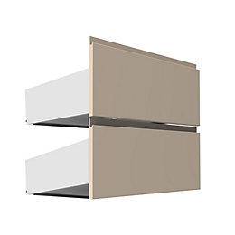 Darwin Modular Cream External Drawers with Integrated Handle