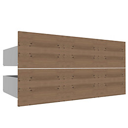 Darwin Modular Oak Effect External Drawers (W) 1000mm