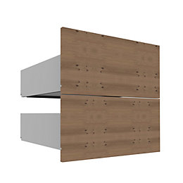 Darwin Modular Natural External Drawers (H)237mm (W)500mm
