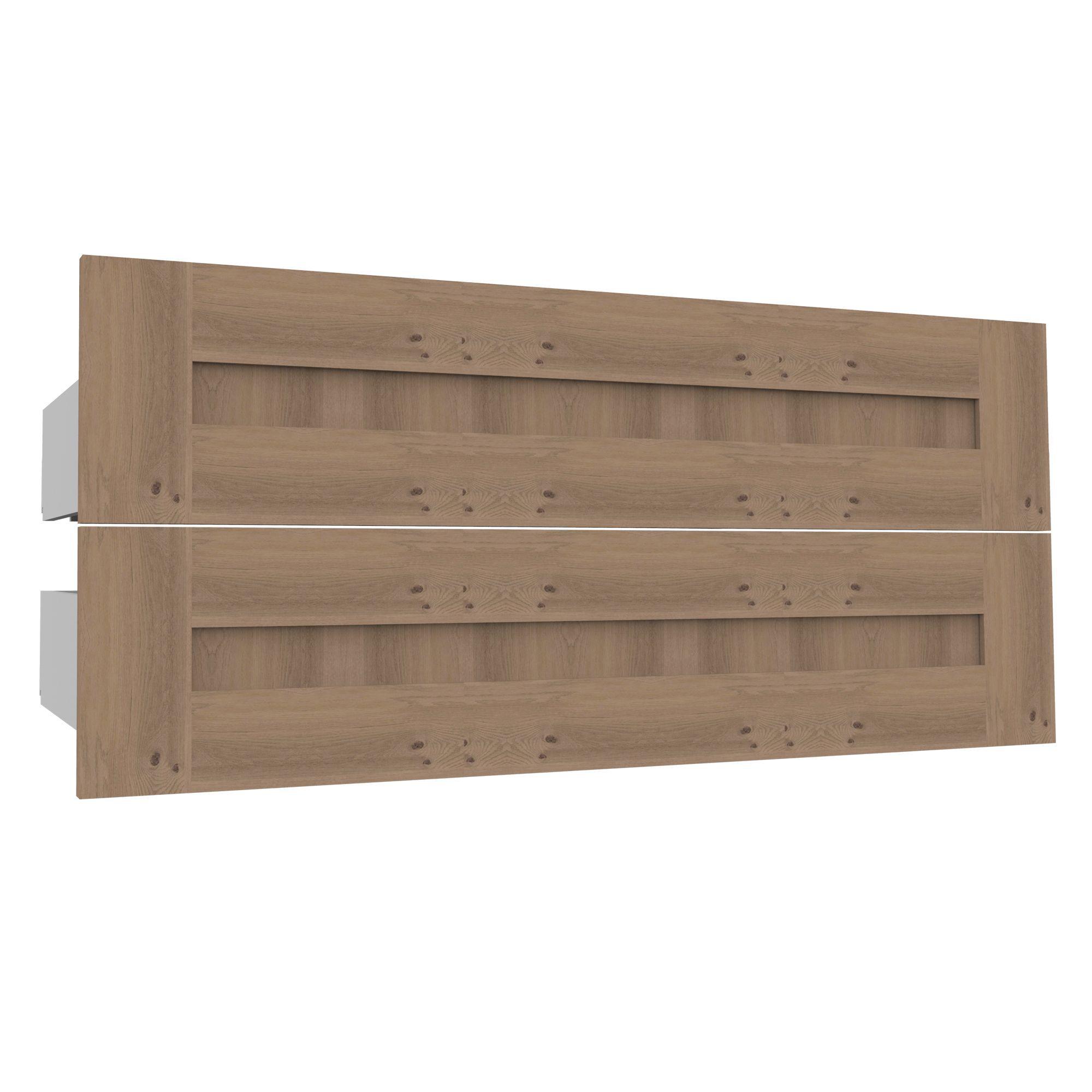 Darwin Modular Oak Effect External Drawers (w) 1000mm (d) 514mm, Pack Of 2