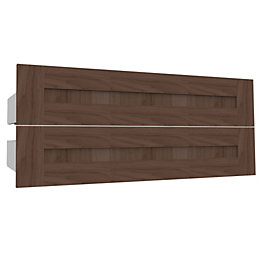 Darwin Modular Walnut Effect External Drawers (W) 1000mm