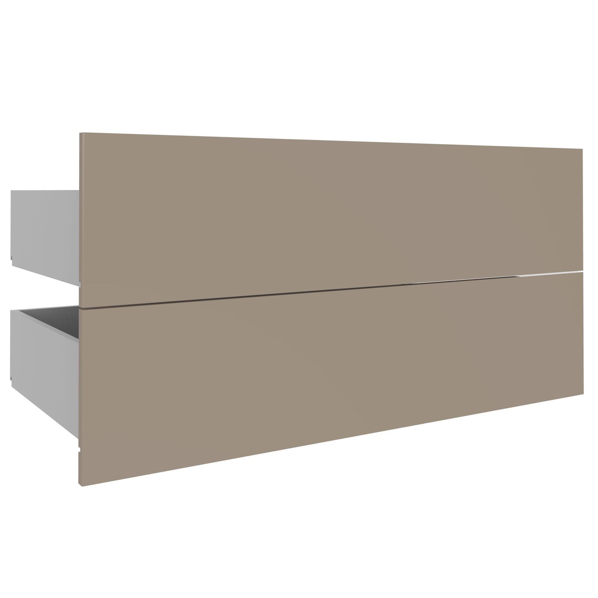 Darwin Modular Cream & Gloss External Drawers (h)237mm (w)1000mm (d)566mm
