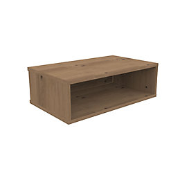 Form Oppen Natural Oak Wall Unit (H)240.5mm (W)748mm