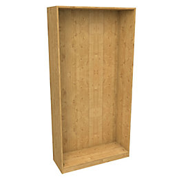 Darwin Modular Oak Effect Narrow Cabinet (H)2004mm (W)1000mm