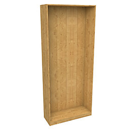 Darwin Modular Oak Effect Tall Narrow Cabinet (H)2356mm