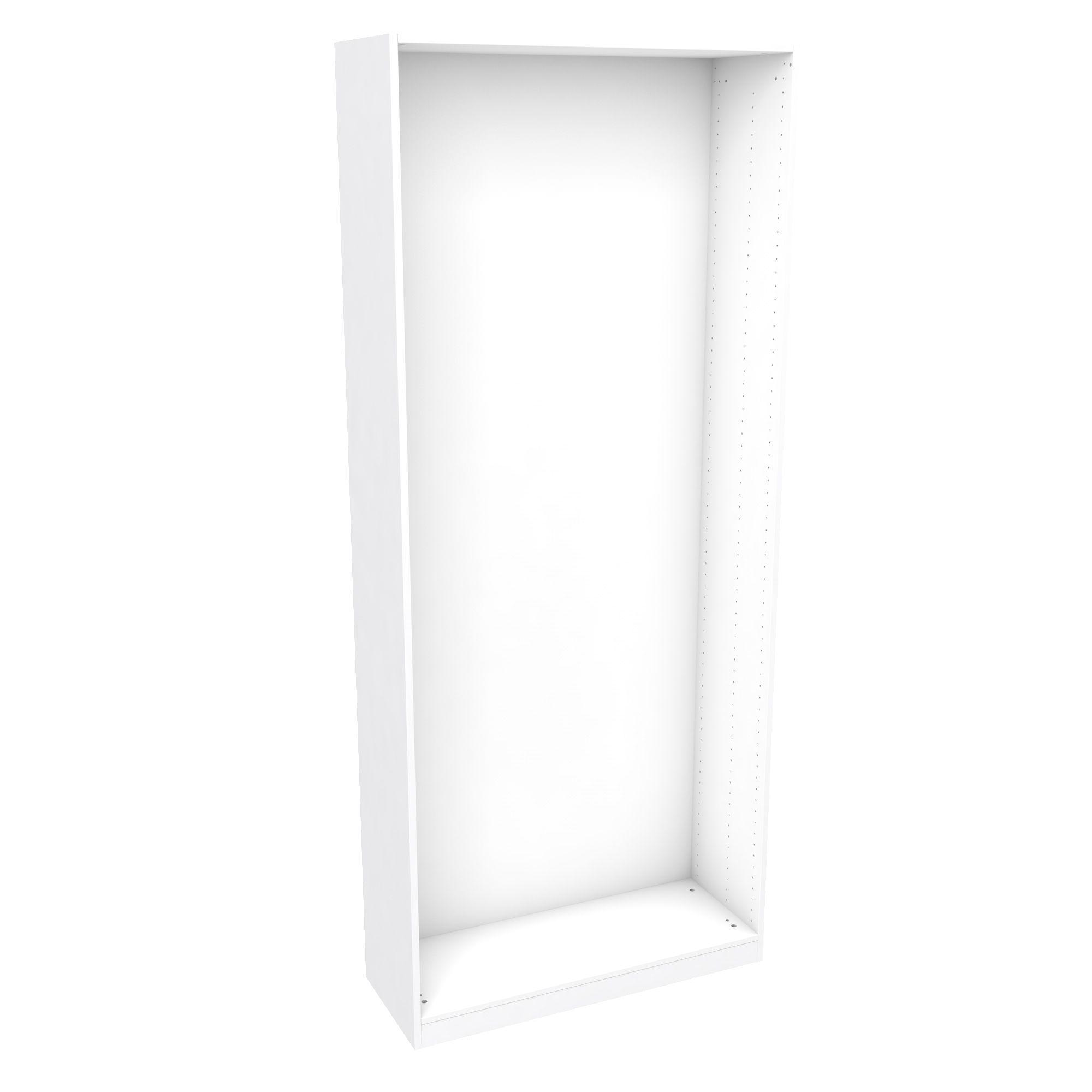 Darwin Modular White Tall Wardrobe Cabinet (h)2356mm (w)1000mm (d)374mm