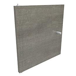 Form Konnect Grey Oak Effect Cube Door (W)322mm