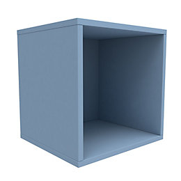 Form Konnect Blue 1 Cube Shelving Unit (H)352mm