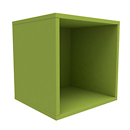 Form Konnect Lime 1 Cube Shelving Unit (H)352mm