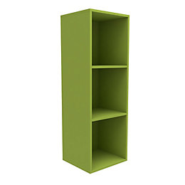 Form Konnect Lime 3 Cube Shelving Unit (H)1032mm