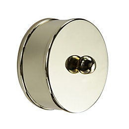 Metal Medium Handrail End Cap (L)25mm (H)35mm (W)60mm