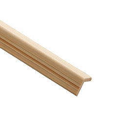 Reeded Angle Moulding (T)18mm (W)18mm (L)2400mm