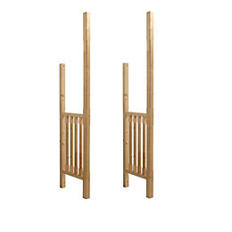 Stop Chamfered Porch Side Panels (H)2400mm (W)577mm