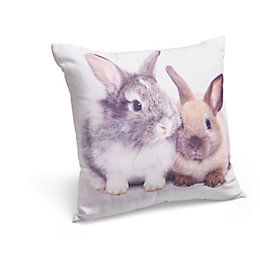 Bunnies Multicolour Cushion
