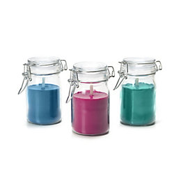 Blooma Glass Jar Citronella Candle Small