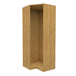 Darwin Oak Effect Corner Cabinet (H)2356 mm (W)998