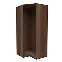 Darwin Walnut Effect Corner Cabinet (H)2004mm (W)998mm
