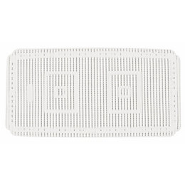 Chester White PVC Foam Anti-Slip Bath Mat (L)690mm