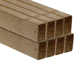 C16 Treated CLS Timber (T)38mm (W)63mm (L)2400mm Pack