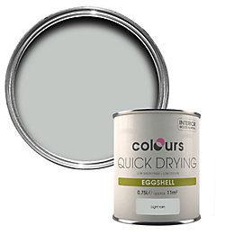 Colours Light Rain Eggshell Wood & Metal Paint