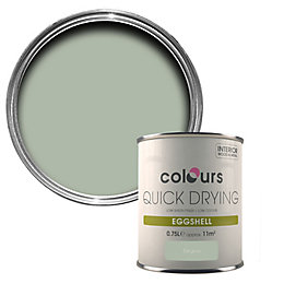 Colours Quick Dry Cut Grass Eggshell Wood &