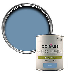 Colours Maritime Eggshell Wood & Metal Paint 750ml