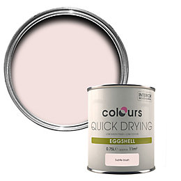 Colours Quick Drying Subtle Blush Eggshell Wood &