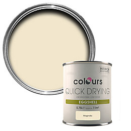 Colours Magnolia Eggshell Wood & Metal Paint 750ml