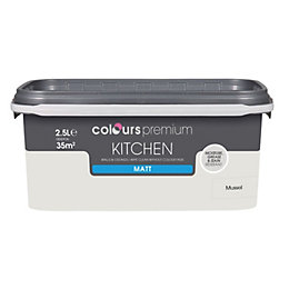 Colours Kitchen Mussel Matt Emulsion Paint 2.5L