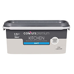 Colours Kitchen Chic Cashmere Matt Emulsion Paint 2.5L