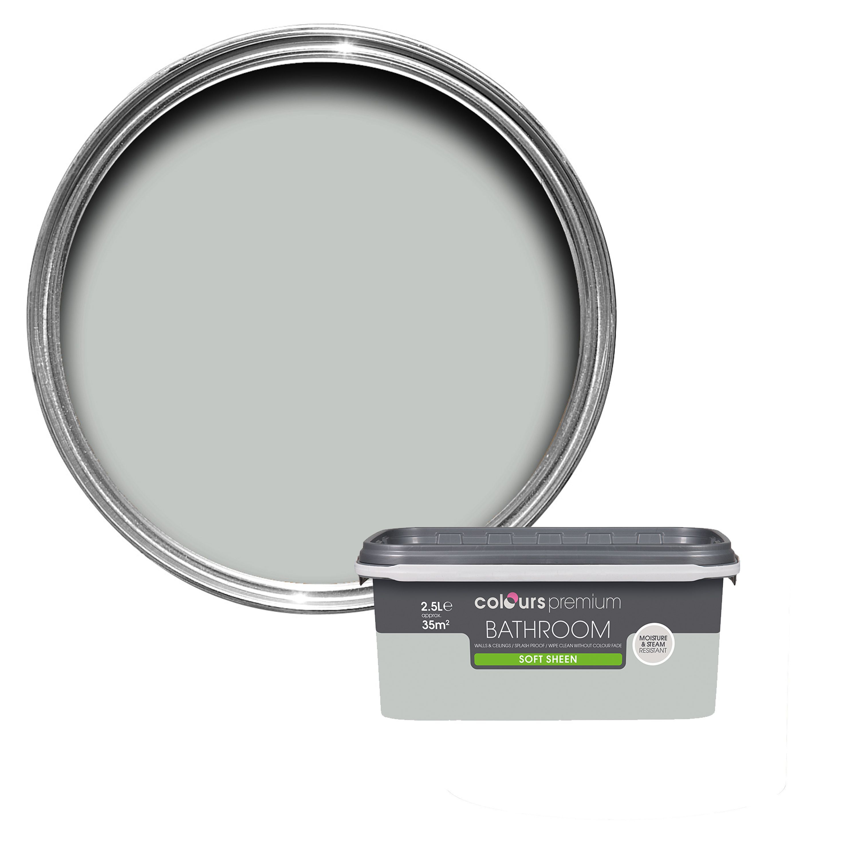 Bathroom Mirror Lights B&Q colours bathroom light rain soft sheen emulsion paint 2.5l