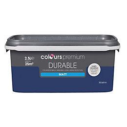 Colours Durable Marine Matt Emulsion Paint 2.5L