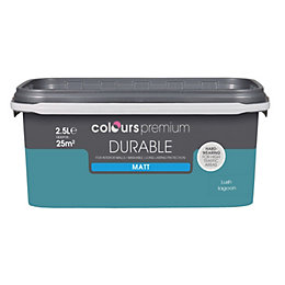 Colours Lush Lagoon Matt Emulsion Paint 2.5L