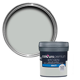 Colours Kitchen Light Rain Matt Emulsion Paint 50ml