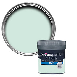 Colours Kitchen Duck Egg Matt Emulsion Paint 50ml