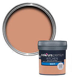 Colours Kitchen Tuscan Roof Matt Emulsion Paint 50ml
